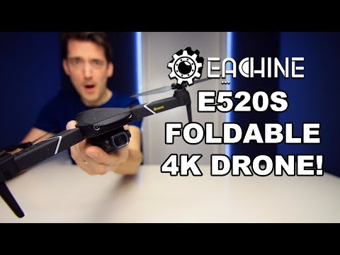 EACHINE e520s 4K DRONE REVIEW!
