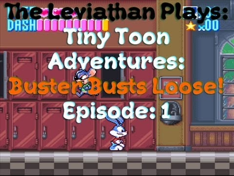 SCHOOL/TRAIN | Tiny Toon Adventures: Buster Busts Loose! | 01