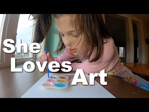Autism| 10 Year Old Loves to Paint