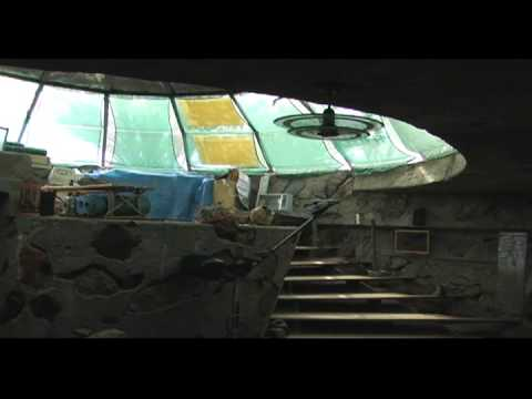 Paolo Soleri at Dome House