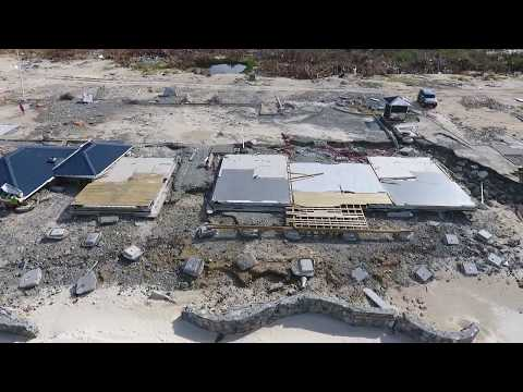Orient Bay Beach After Irma