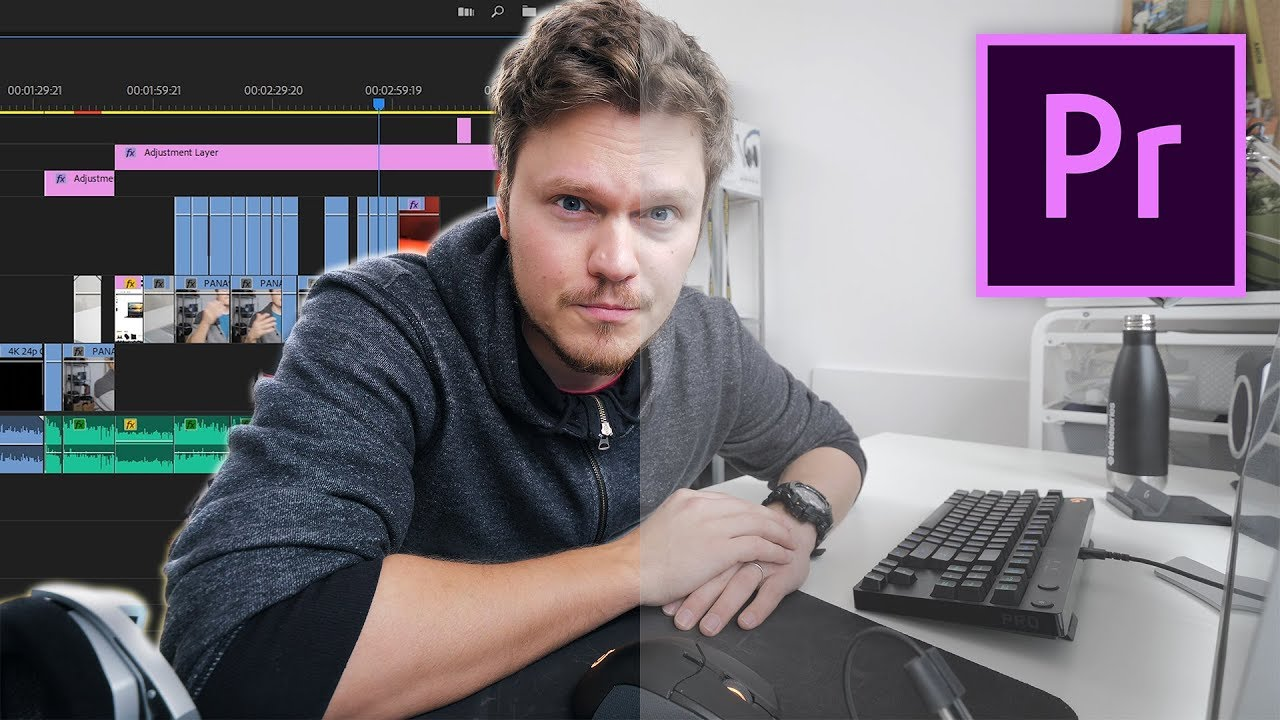 How To Edit Videos Like a PRO in Adobe Premiere!