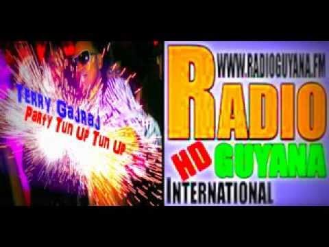 Terry Gajraj - Party Tun Up  Interview on Radio Guyana International W/ DJ 3rd Degree 11-24-13