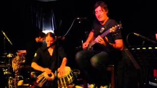 "Schalk Joubert Band performing ""The Ancient Asian Agents"" @ Mahogany Room Cape Town"