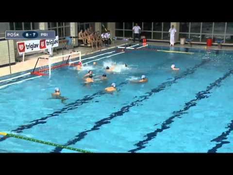 Jadranska Liga 2012-13 POSK - Primorac 9-10 (15. kolo)