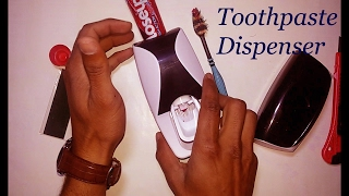 toothpaste dispenser unboxing | toothpaste dispenser review and unboxing