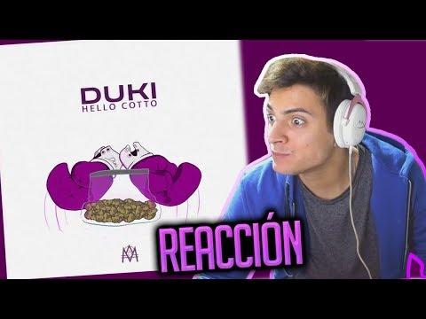 DUKI - HELLO COTTO  REACCIÓN PICANTE
