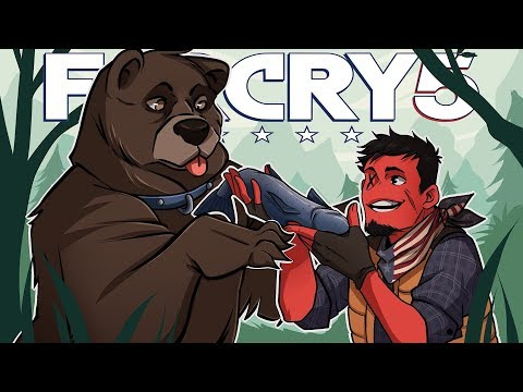 Far Cry 5   THE RIGHT TO ARM BEARS! (Man's NEW Best Friend: Cheeseburger!)