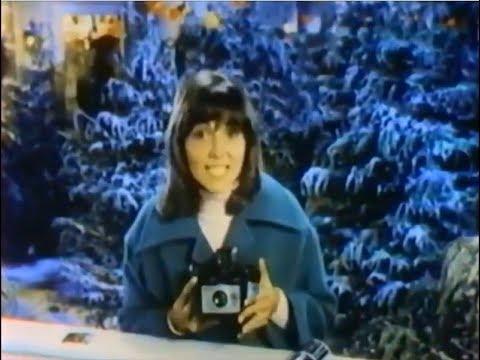 Polaroid Camera Commercial Brenda Vaccaro, Xmas 1972