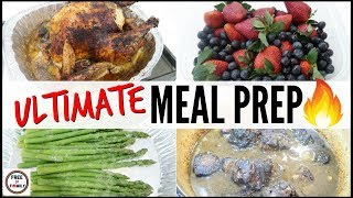 ????EASY KETO FAMILY MEAL PREP FOR THE WEEK ● MEAL PREP A BUDGET ● MEAL PREP MOTIVATION COOK WITH ME