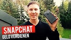 Wie ich Geld im Internet durch Snapchat verdiene: 3 einfache Tipps | Kris Stelljes