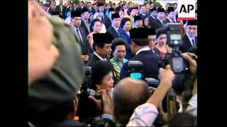 SBY's cabinet sworn in, comment on Myanmar, security