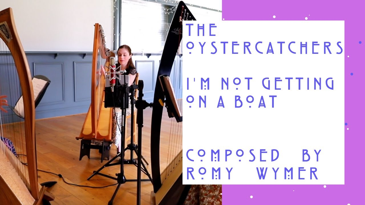 THE OYSTERCATCHERS / I'M NOT GETTING ON A BOAT. By Romy Wymer. THE WILLOW TRIO. LIVE
