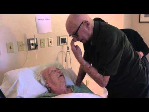 Man sings to 93 year old dying wife. Absolutely heartbreaking