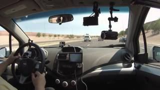 Robert Trudell drives U.S. Route 60 East from Mesa, Arizona, 19 June 2015, GOPR6863