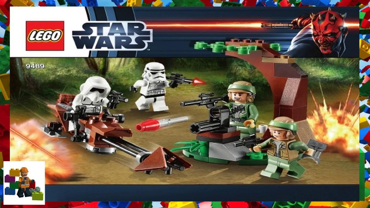 Lego Instructions Star Wars 9489 Endor Rebel Trooper