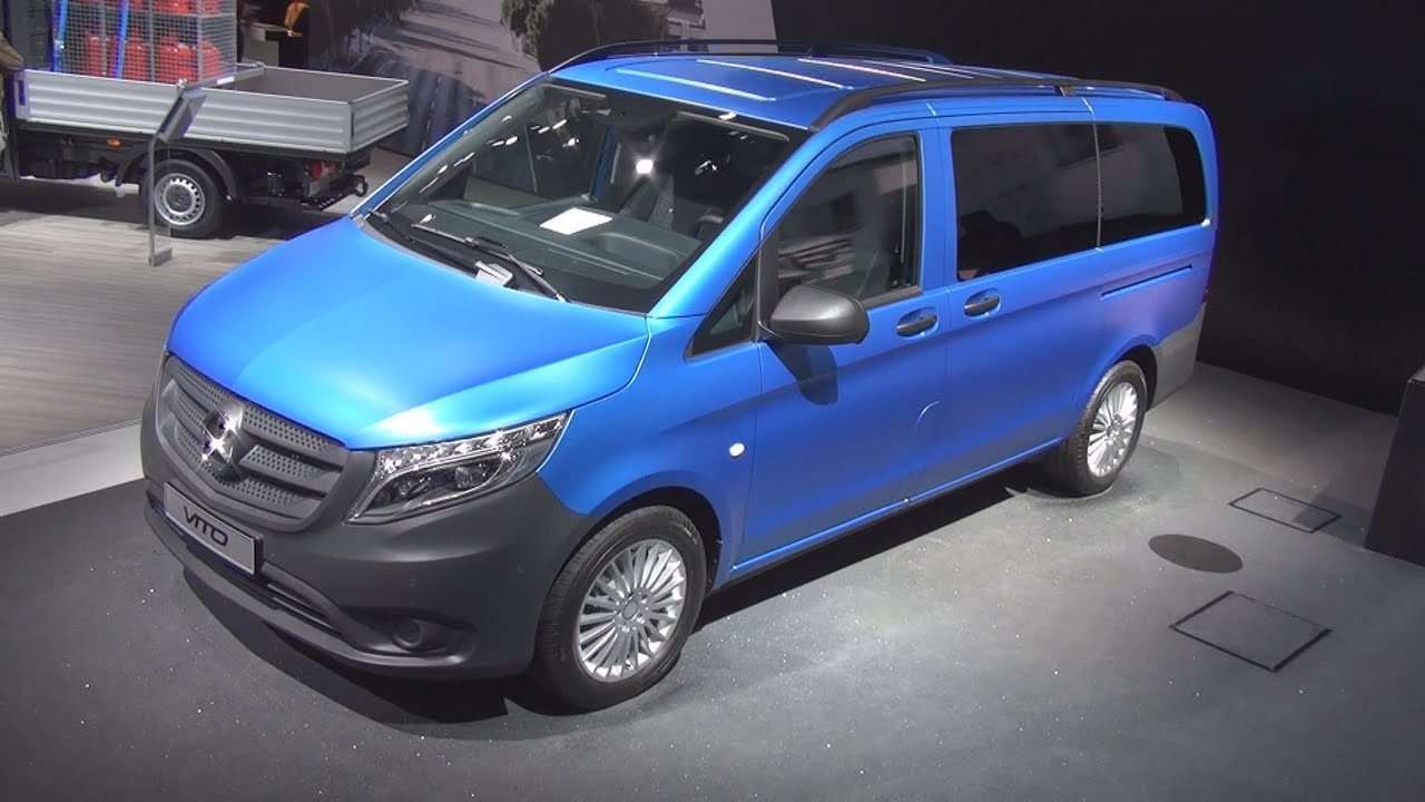 mercedes benz vito tourer pro 119 bluetec 2014 exterior and interior in 3d 4k uhd youtube. Black Bedroom Furniture Sets. Home Design Ideas
