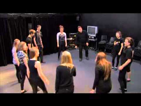 Theatre Game #5 - Energy Circle. From Drama Menu - drama games & ideas for drama.