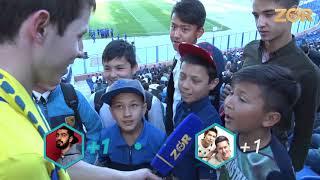 Real Xit - Paxtakor Markaziy Stadionida