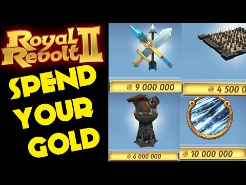 ROYAL REVOLT 2 - HOW TO SPEND YOUR GOLD WISELY