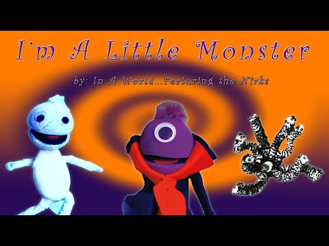 Im A Little Monster In A Worlds 13 Nights of Halloween  For Kids