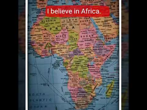 I believe in Africa