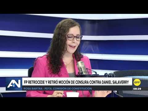 Entrevista en Ampliación de Noticias por @RPPNoticias parte 2
