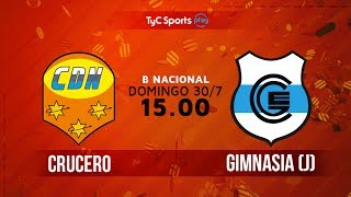 Crucero del Norte vs Gimnasia J full match