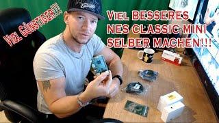 Viel GÜNSTIGER und viel BESSERES SNES / NES / C64 Classic Mini SELBER MACHEN!