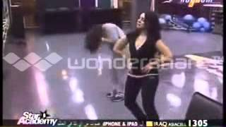 رقص اخت هيفاء وهبى