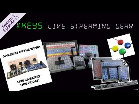 X-keys® Computer Input Devices - Live Joystick Giveaway!