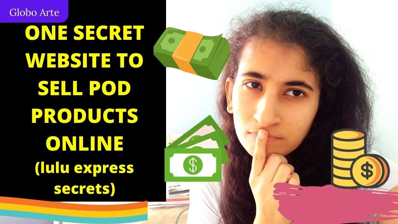 ONE SECRET WEBSITE TO SELL POD PRODUCTS ONLINE