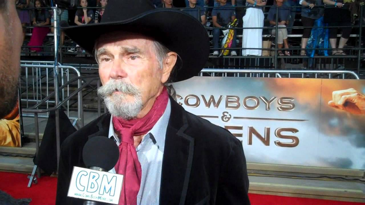 Cowboys Amp Aliens Red Carpet Interview Buck Taylor