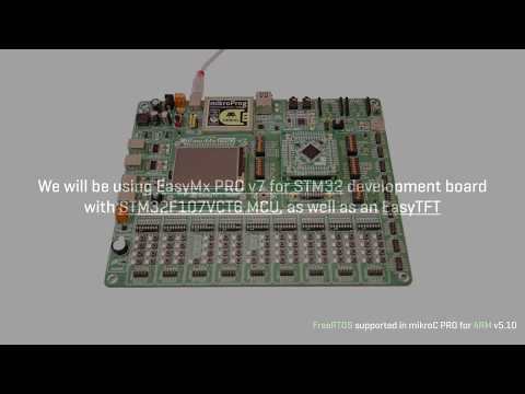 Start a project with FreeRTOS - on EasyMx PRO v7 for STM32 dev board