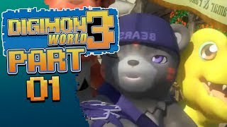 Digimon World 3 - Episode 1 - BEST DIGIMON GAME EVER!