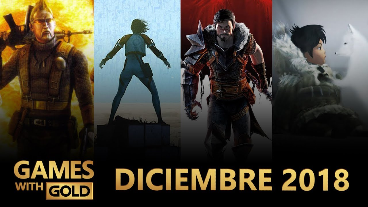 Games With Gold Xbox One Y Xbox 360 Diciembre 2018 Youtube