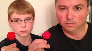 12-yr-old eats whole Carolina Reaper (Worlds Hottest Pepper) : Crude Brothers(12-year-old Nick and J take it all the way to the top of the mountain ... eating the World's Hottest Pepper, the Carolina Reaper. This pepper is in the Guinness ..., 2014-08-30T02:19:04.000Z)