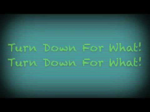 """""""Turn Down For What"""" Lyric Video"""