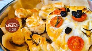 Пирог с сыром БЫСТРО и ПРОСТО Выпечка из слоеного теста с сыром Рецепт пирога с сыром Рецепт Журкина