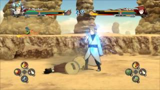 Edo Mizukage VS Gaara + Kurenai Red Dress Link