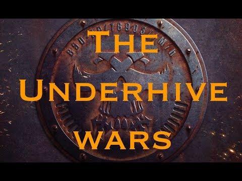 The Underhive Wars:  Delaque vs  Van Saar Necromunda Battle Report #16