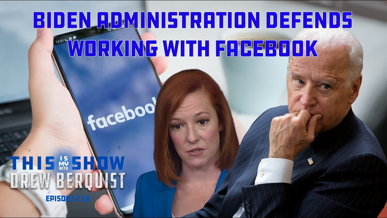 Biden Administration Doubles Down on Working With Facebook | Brad Thor Guests | Ep 219