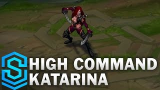 High Command Katarina Skin Spotlight Assassin Update 2016 League Of Legends Youtube