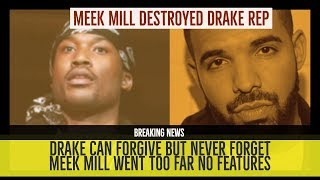 Baixar DRAKE REPUTATION DESTROYED BY MEEK MILL, Drake Feature Cancelled He Can Forgive but NEVER FORGET