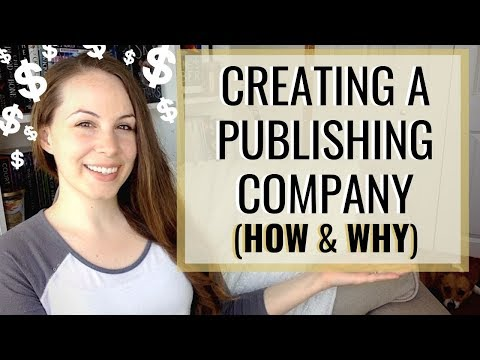 How (and Why) to Start Your Own Publishing Company   Author Business, Taxes, ISBNs, and more!
