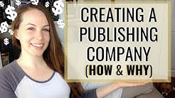 How (and Why) to Start Your Own Publishing Company | Author Business, Taxes, ISBNs, etc