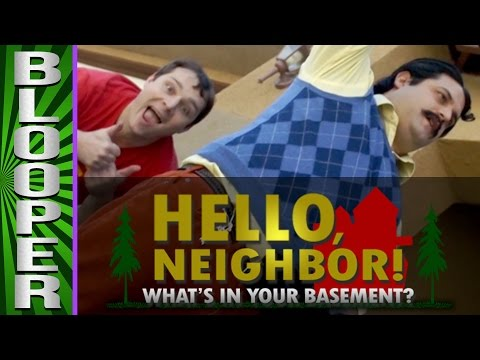 "HELLO NEIGHBOR - Bloopers from ""What&39;s In Your Basement"""