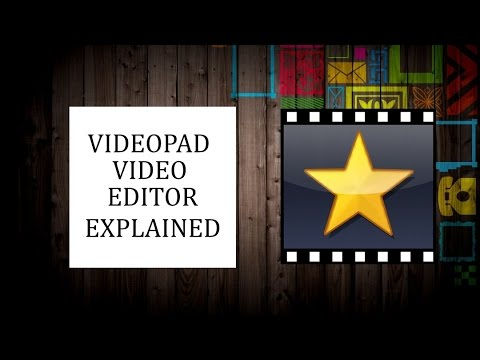 Videopad Video Editor Tutorial 2017