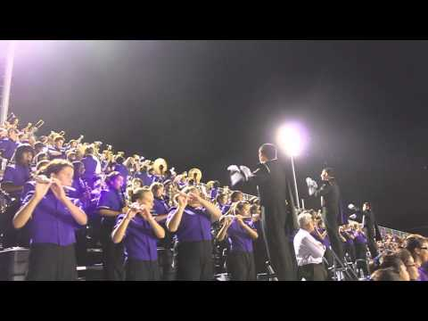Warren Warrior Band plays