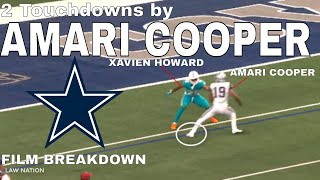 Amari Cooper vs Xavien Howard 1 on 1 Double Touchdowns 🚨
